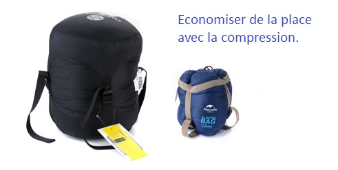 compressions SAC COUCHAGE ULTRA LIGHT - Sac de couchage ultra léger -  RENTIERS ANONYMES SHOP